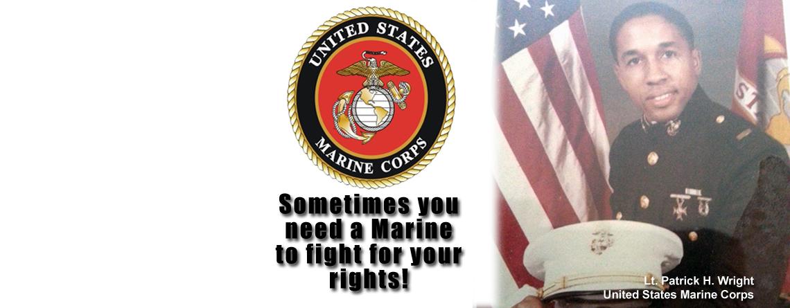 Patrick H. Wright – Former Marine Lieutenant